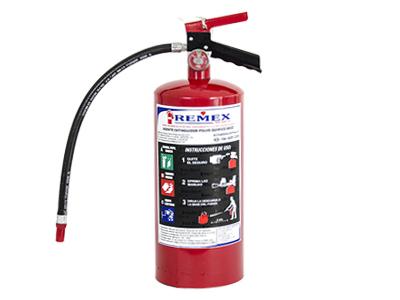 Extintor de 9.0kg Polvo ABC