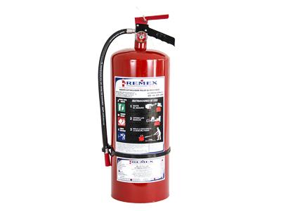 Extintor de 6.0kg Polvo ABC